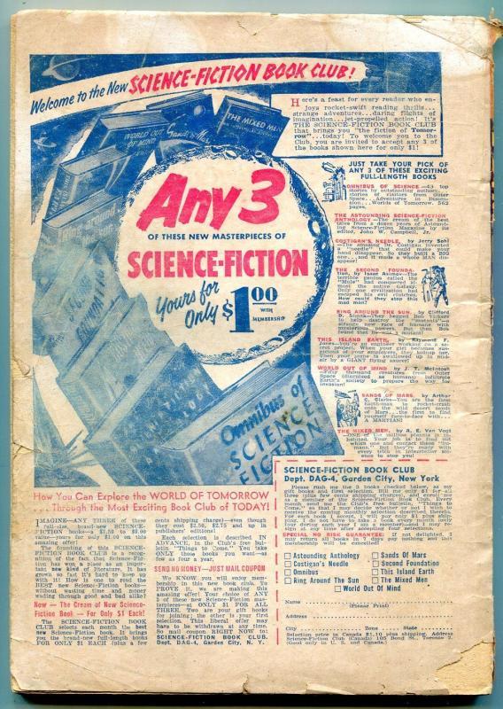 Famous Detective Stories Pulp April 1954- Snowbound Murder G