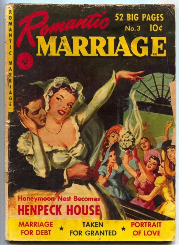 Romantic Marriage #3 1950- HENPECK HOUSE- Marriage for Debt FAIR