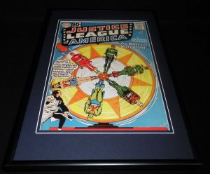 Justice League #6 JLA Framed 12x18 Cover Photo Poster Display Official Repro