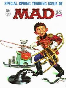 Mad #95 VG; E.C   low grade comic - save on shipping - details inside
