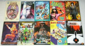 Wholesale lot of (50) TPBs - marvel/dc/more  spider-man blue - (value: $853.54)
