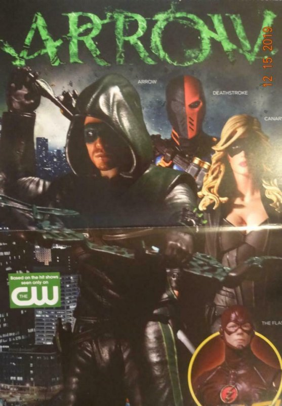 ARROW  Promo Poster, 11 x 17, 2015, DC, Green Arrow Unused more in our store 355