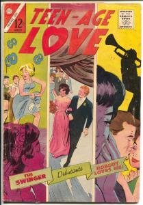 Teen-Age Love #43 1965-Charlton-swinger-debutante cover-FR