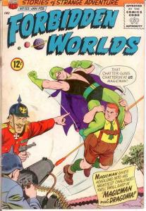 FORBIDDEN WORLDS 133 GOOD    Jan.-Feb. 1966 COMICS BOOK