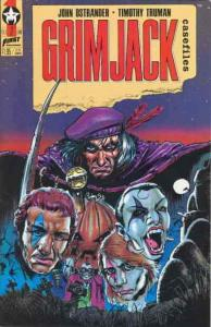 Grimjack Casefiles #2 VF; First | save on shipping - details inside