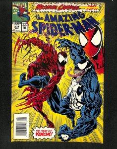 Amazing Spider-Man #378 Maximum Carnage Part 3 Venom!