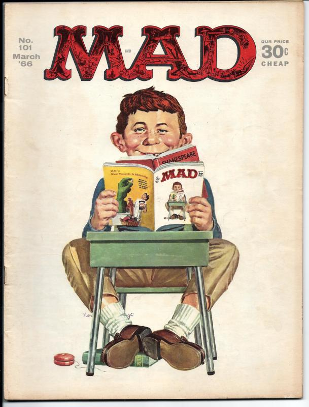 Mad No. 101, April, 1966 (FN)