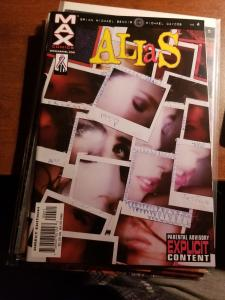 Marvel MAX Comics Alias (2002) #4 Jessica Jones Never Read NM-