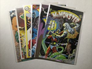 Mr. Monster 1 2 3 4 5 6 Lot Run Set Near Mint Nm Eclipse Comics