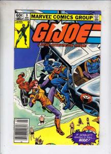 G.I. Joe #9 (Mar-83) NM- High-Grade G.I. Joe