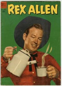 REX ALLEN ( 1951-1959 DELL) 10 VG PHOTOCOVER COMICS BOOK