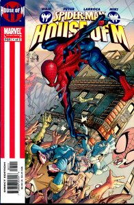 Spider-man HOUSE OF M SET #1 signed by Mark Waid NM