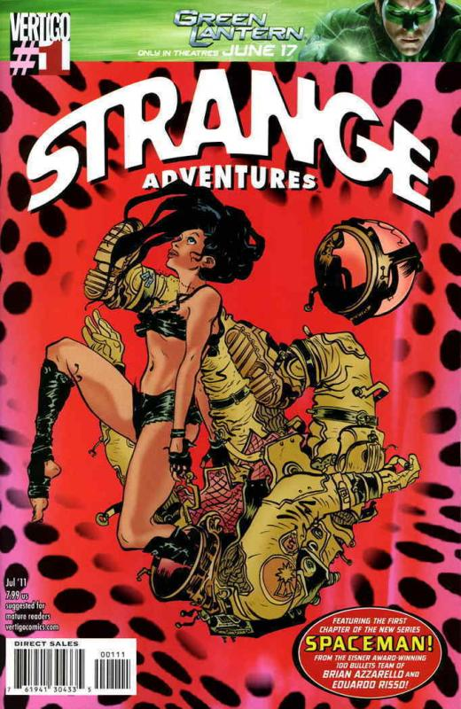 Strange Adventures (5th Series) #1 VF/NM; DC/Vertigo | save on shipping - detail