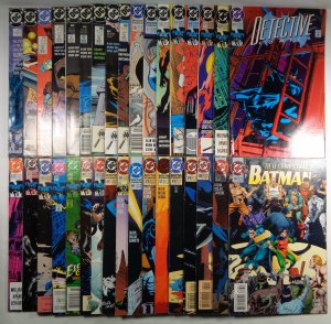 Lot of 34 Detective Comics Batman