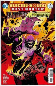 Suicide Squad Most Wanted El Diablo & Boomerang #2 (DC, 2016) NM