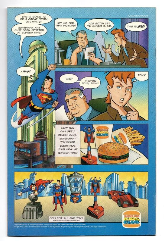 Superboy #45 VF 1997 Stock Image