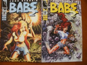 2 Legend Dark Horse Comics BABE 2 Limited Series Comic #1 #2 (1995 John Byrne)