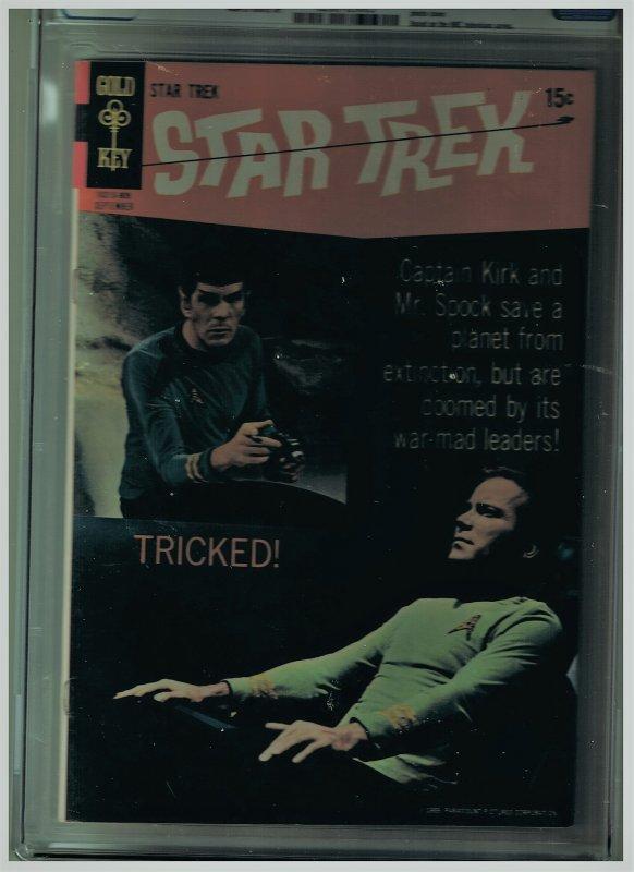 Star Trek Series 1 Gold Key Issue #5 CGC 7.0