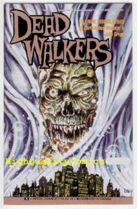 DEAD WALKERS #4, NM-, Zombies, Aircel, 1991, Plague, more Horror in store