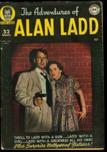 ADVENTURES OF ALAN LADD #2- MOVIE PHOTO COVER-DC VG