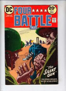 Four Star Battle Tales #4 (Sep-73) FN+ Mid-High-Grade The Three Frogmen