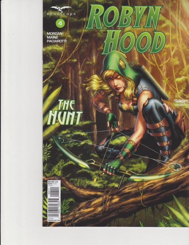 Robyn Hood The Hunt #4 Cover A Zenescope Comic GFT NM Goh