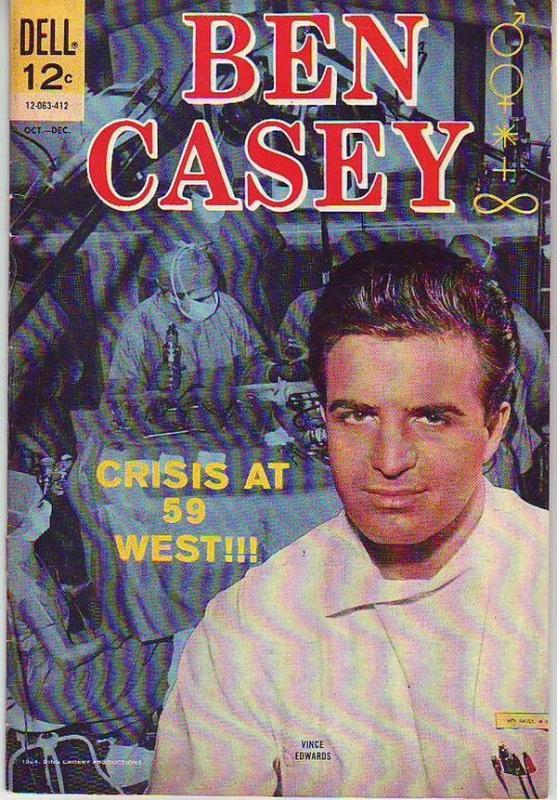 Ben Casey #9 (Oct-64) VF- High-Grade Ben Casey