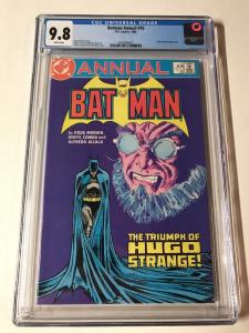 Batman Annual 10 Cgc 9.8 White Pages Hugo Strange Triumphant!