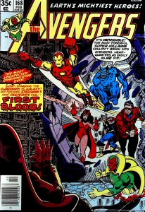 The Avengers #168 (1978)