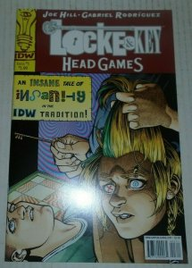 Lock & Key Head Games # 3 First Printing Joe Hill IDW