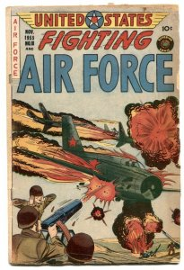 United States Fighting Air Force #18 1955- VG-