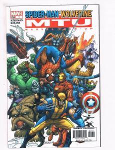Spider-Man Wolverine MTU Marvel Team Up # 1 NM Comic Book Kirkman Rolins Art S71