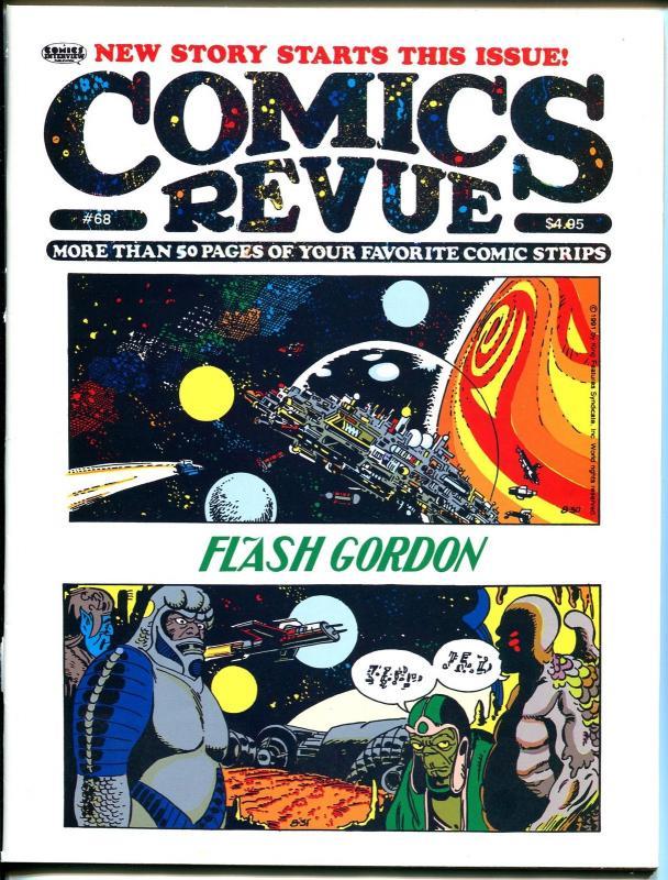 Comics Revue #68 1991-Tarzan-Flash Gordon-Phantom-Modesty Blaise-VF