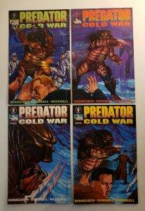 PREDATOR COLD WAR #1-4 SET DARK HORSE COMICS 1991 VF/NM
