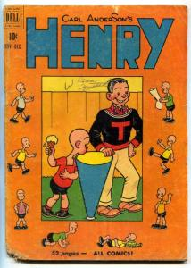 Henry #16 1950-Dell Golden Age comic G/VG
