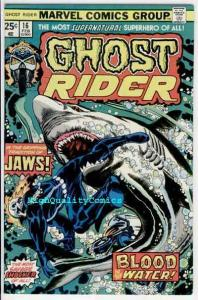GHOST RIDER #16, VF+, Blood, Shark, Jaws, Movie, 1973, more GR in store