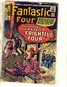 Fantastic Four # 36 GD/VG Marvel Comic Book Thing Dr. Doom Human Torch FM6