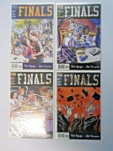 Finals set #1 to #4 NM 4 different books (1999)