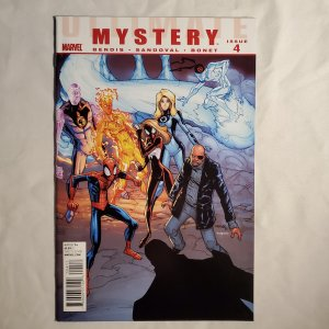 Ultimate Mystery 4 Very Fine- Cover by Humberto Ramos