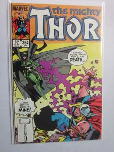 Thor (1962-1996 1st Series Journey Into Mystery) #354 - VF+ 8.5 - 1985
