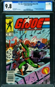 G.I. JOE A Real American Hero #16 CGC 9.8 1983- NEWSSTAND ed-2038907020