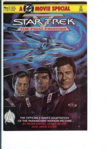 Star Trek #1 - Copper Age - March 1989 (VF/NM)