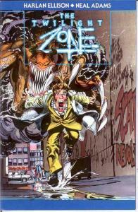 TWILIGHT ZONE  VF-NM  Oct. 1991 Ellison/ Adams COMICS BOOK