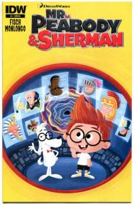 MR PEABODY & SHERMAN #1, NM, Variant, Dreamworks, Disney, Cartoon, 2013