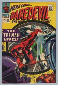 Daredevil 22 Nov 1966 FI-VF (7.0)