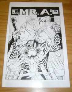 Mr. A. #18 VF/NM; Comic Art   save on shipping - details inside