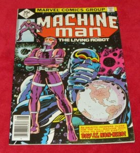 Machine Man #5 FN/VF Jack The King Kirby Art Sci-Fi 1978 Marvel Comic Book