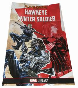 Tales of Suspense Hawkeye Winter Soldier Folded Promo Poster (36 x 24) - New!