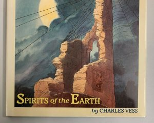 Amazing Spider-Man Spirits Of The Earth Hardcover 1990 Charles Vess