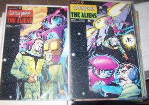 CAPTAIN JOHNER & THE ALIENS #1 & 2, 1994 VALIANT